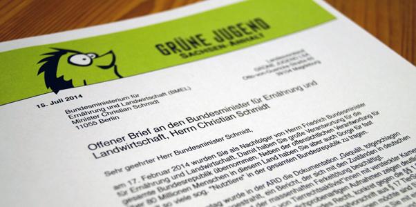 Bühne Offener Brief Christian Schmidt